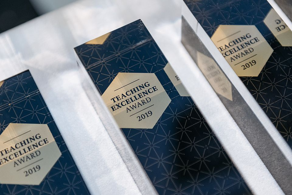 Teaching Excellence Award 2019